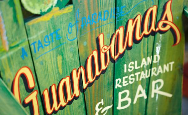 Eddie Stephens' favorite place to take out of towners; Guanabanas.