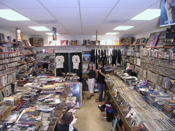 Eddie Stephens' favorite store, Confusion Records.