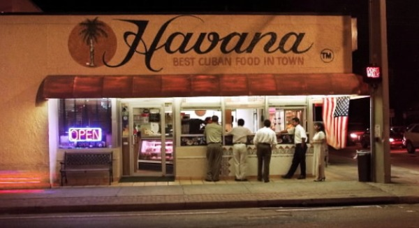 Eddie Stephens favorite take out; Havana Restaurant