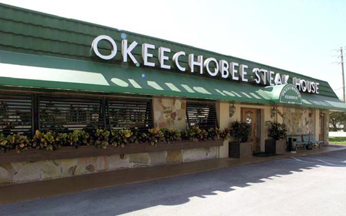 Eddie Stephens' favorite fine dining; Okeechobee Steakhouse
