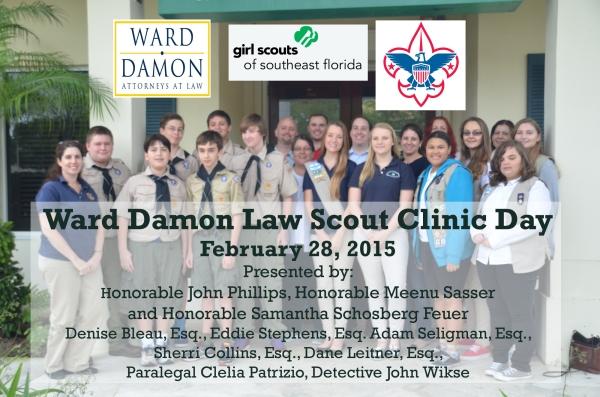 Ward Damon Scout Law Clinic